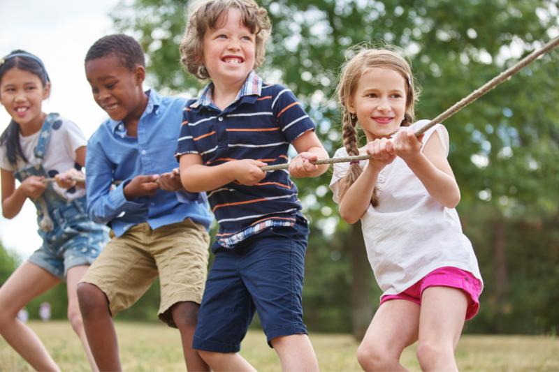 el juego como habito saludable de los niños
