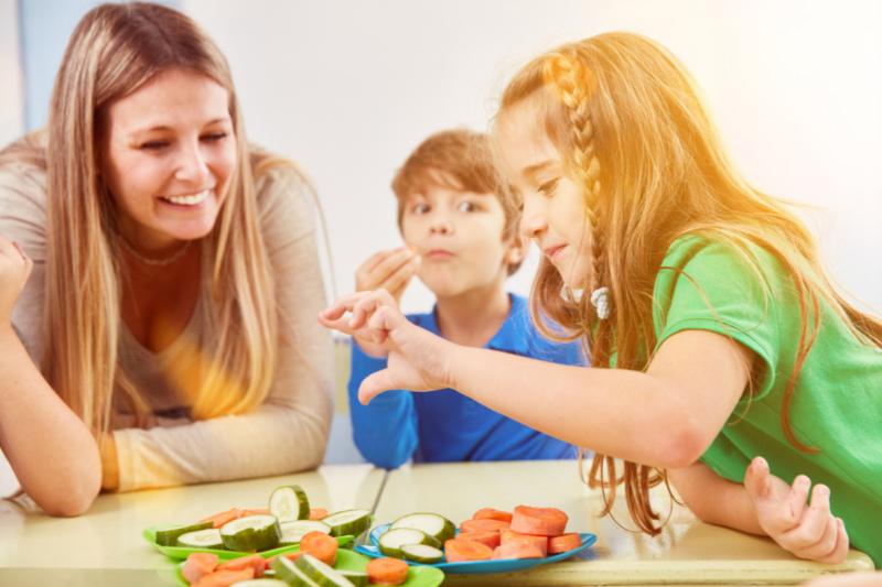 familia y habitos saludables